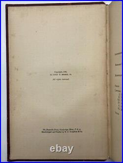 H. H. Holmes SIGNED BOOK FROM PRISON Jack the Ripper Herman Webster MUDGETT