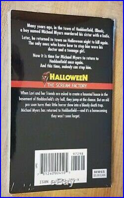 Halloween The Scream Factory Paperback Book KELLY OROURKE Michael Myers Movies