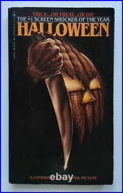 Halloween by Curtis Richards Novel of Film Bantam Books 1981 3rd printing