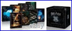 Harry Potter 8-Film Collection (4K Ultra/Blu-ray/Digital) Steel Book