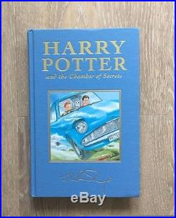 Harry Potter Deluxe Edition Set of all 7 books 4 first editions included