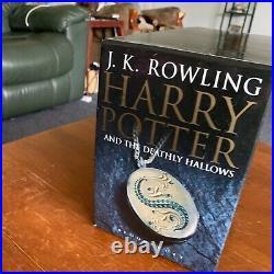 Harry Potter Hardcover UK Adult Edition Bloomsbury Full Box Set Book 1-7 (Rare)