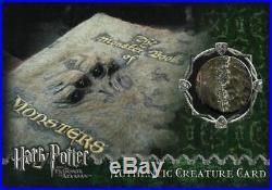 Harry Potter Prisoner Azkaban Update Monster Book Prop Card HP #255/310