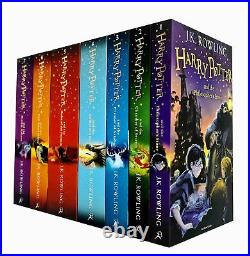 Harry Potter Series by J. K. Rowling 1 7 Books Collection Set Children's Pack