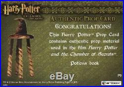 Harry Potter and the Chamber of Secrets Potions Book Prop Card HP P9 #091/115