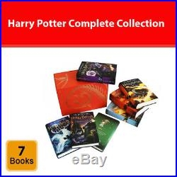 Harry Potter complete collection 7 books box set J. K. Rowling Hardback Red NEW