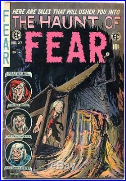 Haunt of Fear #27 1954- EC Horror Comic book Reed Crandall FN