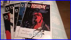 Hellboy Comic Book Lot 1st Appearance Read Description