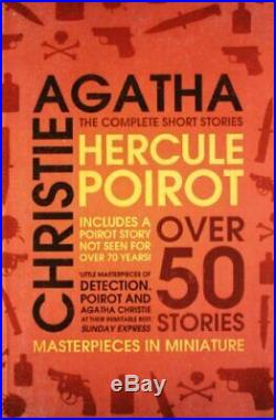 Hercule Poirot the Complete Short Stories by Christie, Agatha Paperback Book