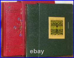 Hobbit Collector's & Lord Of The Rings Book Of Westmarch Very Early Prints
