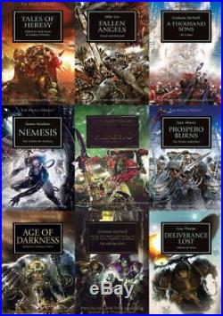 Horus Heresy Series Collection Set Books 1-36 by Games Workshop Brand New