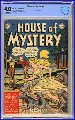 House of Mystery #1 1st DC Horror Book CBCS 4.0