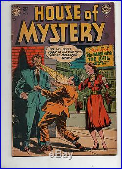 House of Mystery #4 1952 Fine- 5.5 NICE BOOK! DC