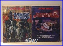 Huge Star Wars Role Playing Game RPG Lot, West End Games, 17 books + extras