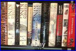 Huge Stephen King Collection 1st Edition Hardcover Book Lot