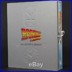 INSIGHT Back to the Future Collectors Edition Book + Sculpted Poster Set NEW