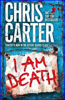 I Am Death (Robert Hunter 7) by Carter, Chris Book The Cheap Fast Free Post