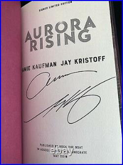 Illumicrate Aurora Rising Exclusive Edition SPRAYED SIGNED with Author Letter