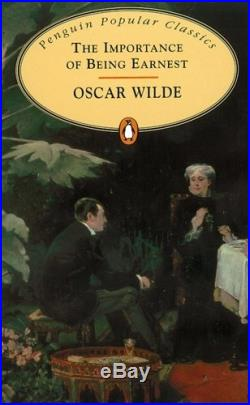 Importance of Being Earnest by Wilde, Oscar Paperback Book The Cheap Fast Free