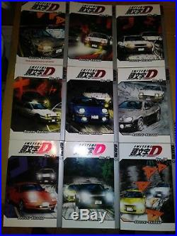 Initial D, Lot of 21 Books 1-6, 8-22 by Shuichi Shigeno