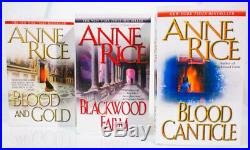 Interview with The Vampire Chronicles by Anne Rice 15-Book Series Set Paperback