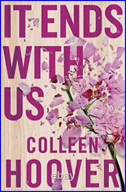 It Ends With Us by Hoover, Colleen Book The Cheap Fast Free Post