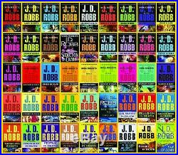 JD Robb In Death Series Set Books 1-44 (45 Books) by Nore Roberts BRAND NEW