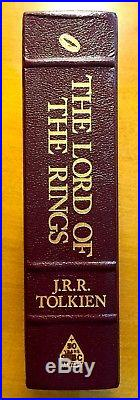 JRR Tolkien -The Lord of the Rings 2004 Deluxe Science Fiction Book Club Edition