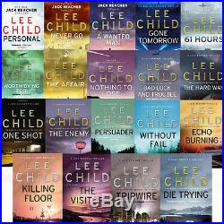 Jack Reacher Series Collection 19 Books Set By Lee Child Never Go Back New AUS