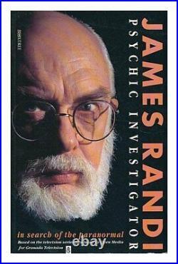 James Randi Psychic Investigator by Randi, James Paperback Book The Cheap Fast
