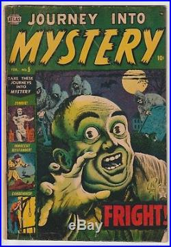 Journey Into Mystery #5, Classic Everett Cover, Scarce Book