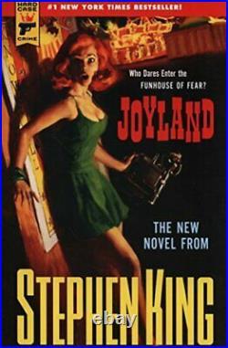 Joyland (Hard Case Crime) (Hard Case Crime Novels) by Stephen King Book