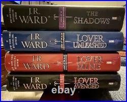 Jr Ward12 Book Lotdark Lover/lover Eternallover Awakenedrevealedunbounden