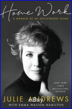 Julie Andrews Home Work A Memoir of My Hollywood Years Signed Book 1/1 HC DJ New