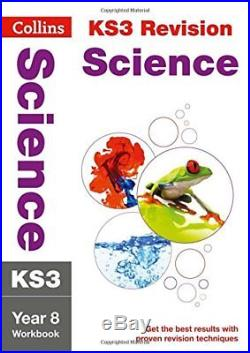 KS3 Science Year 8 Workbook (Collins KS3 Revision) by Collins KS3 Book The Cheap