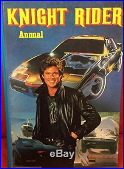 Knight Rider Annual 1982 Book The Cheap Fast Free Post
