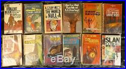 LOT of 48 AE VAN VOGT Books Sci-Fi 12 are SIGNED! EXCELLENT INSCRIPTIONS