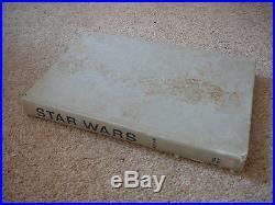 L@@k Very Rare Vintage Star Wars 1st Edition Hardback Book 1976 Del Rey 70s 80s