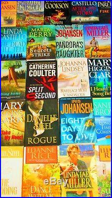 Large Print Women's Fiction Book Lot-hardcover/softcover Free Shipping