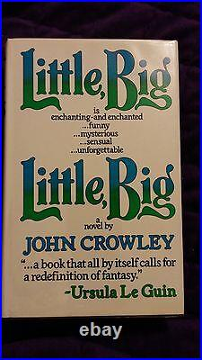Little, Big by John Crowley 1982 HCDJ First U. K. Edition RARE