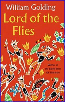 Lord of the Flies by William Golding Paperback Book The Cheap Fast Free Post