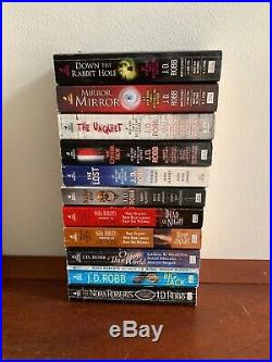 Lot 58 Books by J. D. Robb Nora Roberts Complete In Death Series + Anthologies