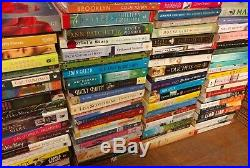 Lot of 100 Large Trade Literature Fiction Paperback BestSeller UNSORTED Mix Book