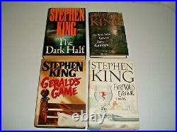 Lot of 17 Stephen King First 1st Edition Hardcover DJ Books IT Danse Collection