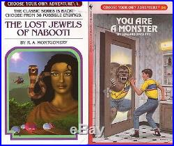 Lot of 40 Choose Your Own Adventure Series Books (Books Numbered Under 60)