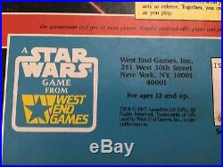 Lot of 4 Star Wars The Role Playing Game + Source Book 1987 1992 Book West End