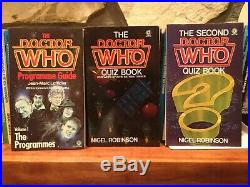 Lot of 72 Vintage DOCTOR WHO Books BBC Paperback Dr Gerry Davis Science Fiction