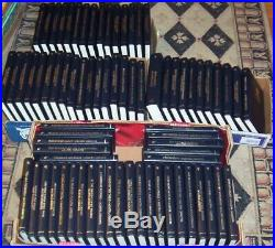 Lot of 75 Agatha Christie Mystery Collection Hardcover Leatherette Books