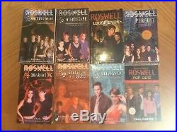 Lot of 9 Roswell High complete books and 3 complete series DVD season set + 12