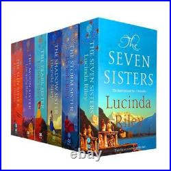 Lucinda Riley Seven Sisters 6 Books Set Collection Shadow Sister, Sun Sister